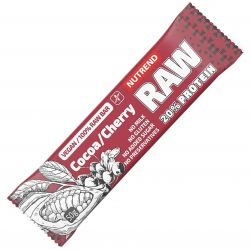 Nutrend RAW protein bar kakao a višeň