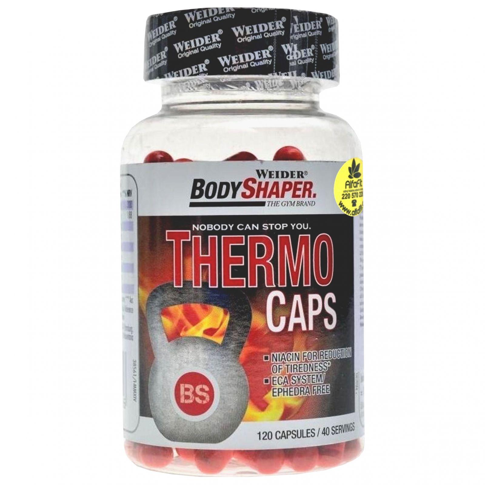 Weider BodyShaper Thermo Caps 120 kapslí
