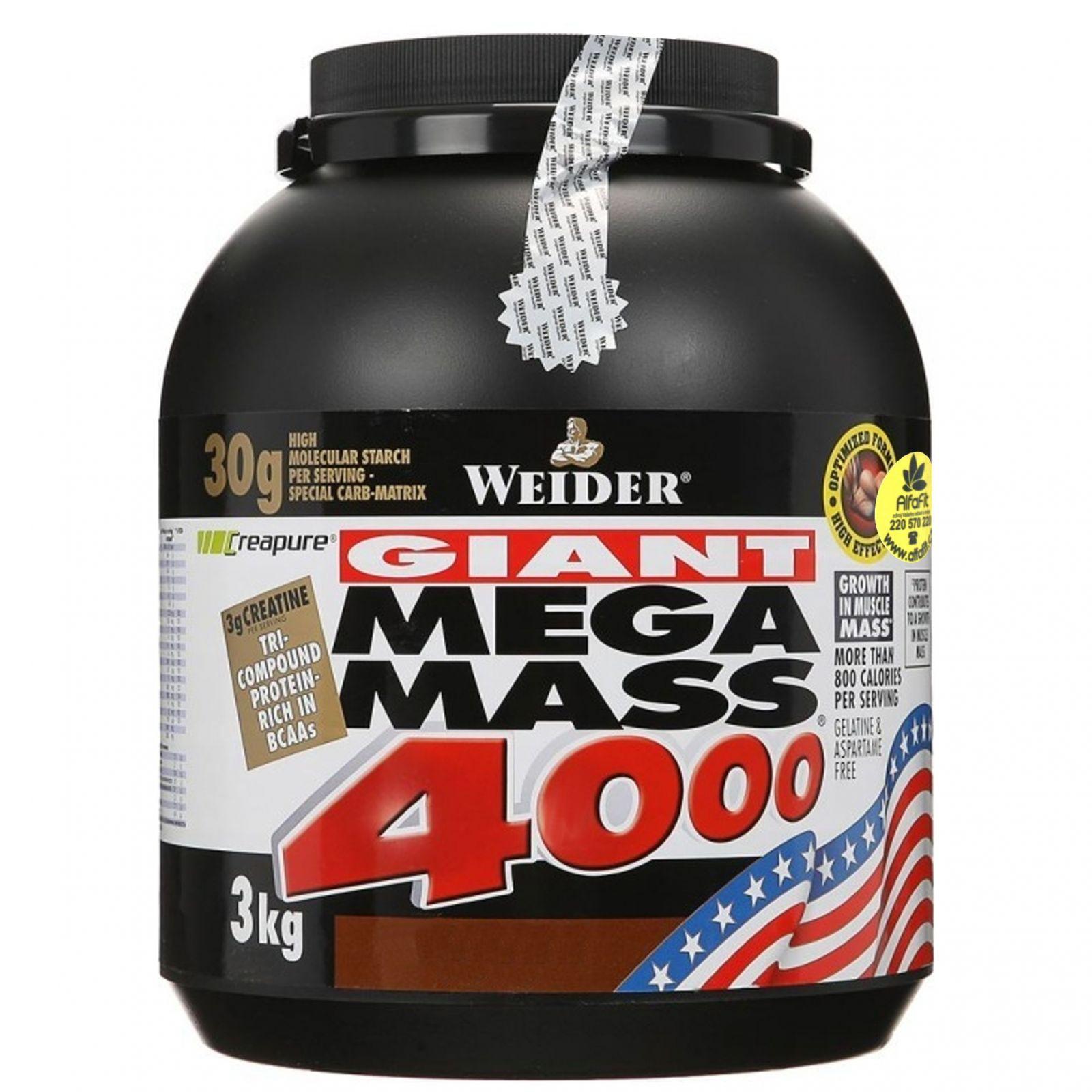 Weider Giant Mega Mass 4000 - 3000 g