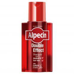 Alpecin Double Effect kofeinový šampon pro muže proti lupům a vypadávání vlasů 200 ml