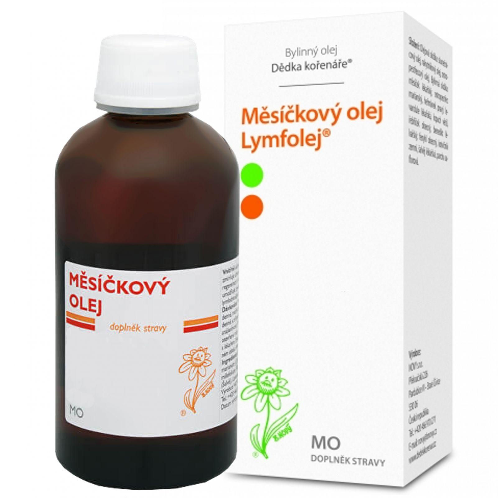 Dědek kořenář Měsíčkový olej MO 100 ml
