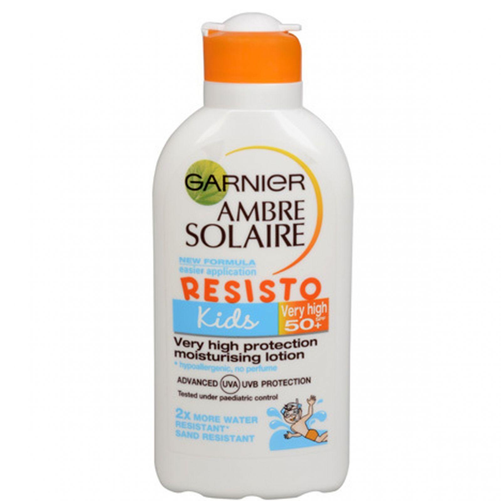 Ambre Solaire Opalovací mléko Kids OF 50+ 200 ml