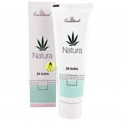 Cannaderm Natura 24 Creme für fettige Haut 75 g