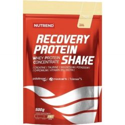 Nutrend RECOVERY PROTEIN SHAKE, Vanilka, 500 g