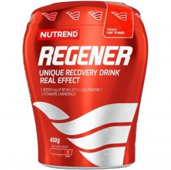 Nutrend REGENER unique recovery drink, red fresh, 450 g