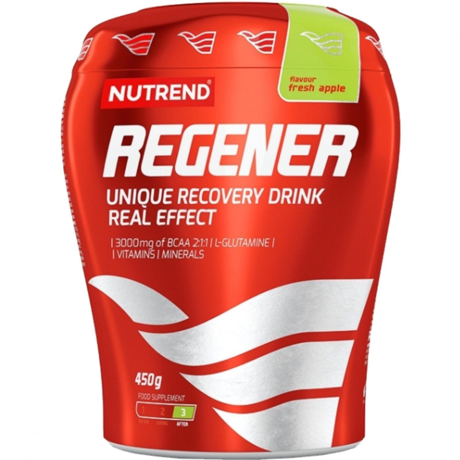 Nutrend REGENER unique recovery drink, fresh apple, 450 g