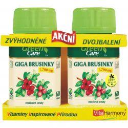 VitaHarmony Giga Preiselbeeren 7700 mg 60 + 60 Tabletten