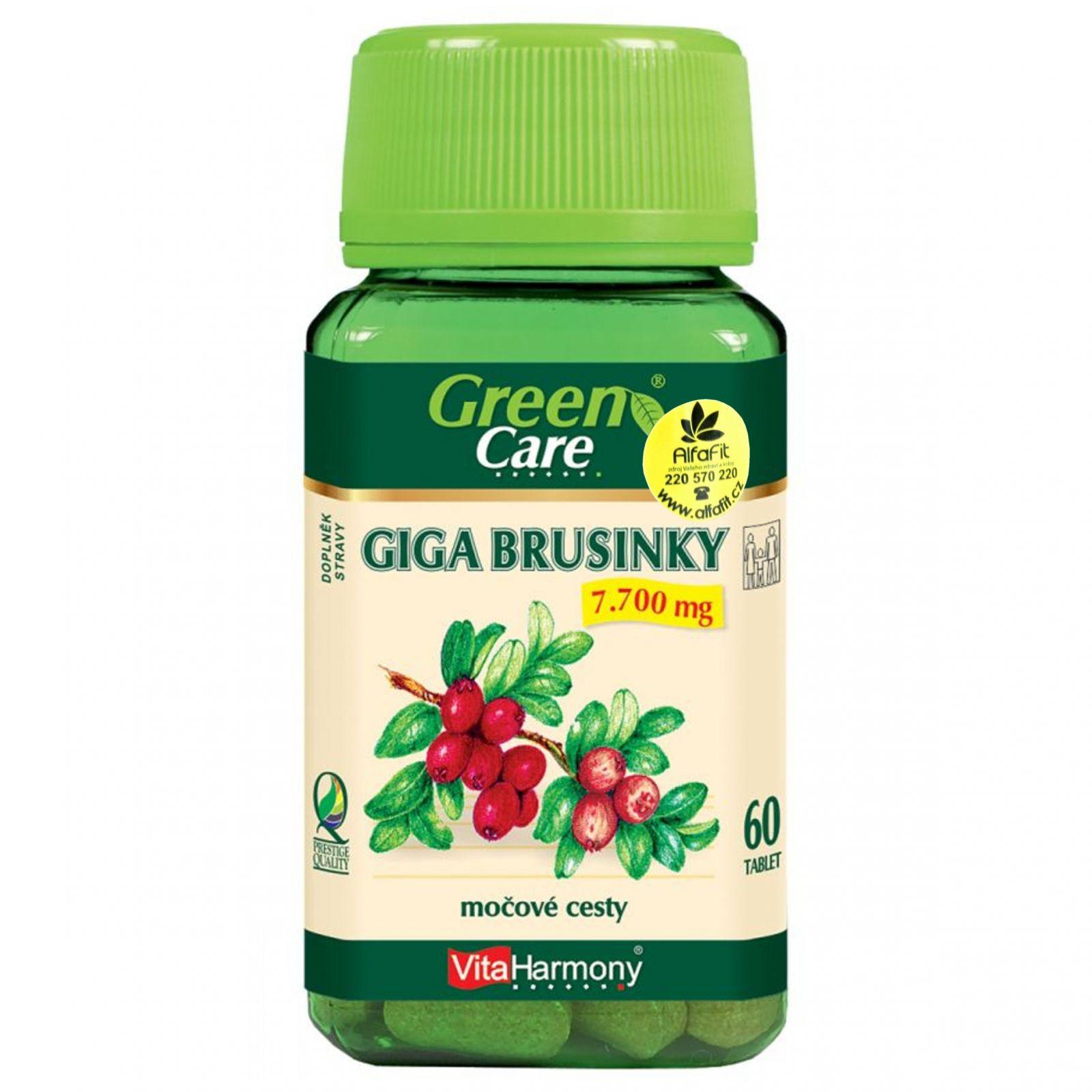VitaHarmony Giga brusinky 7700 mg - 60 tablet