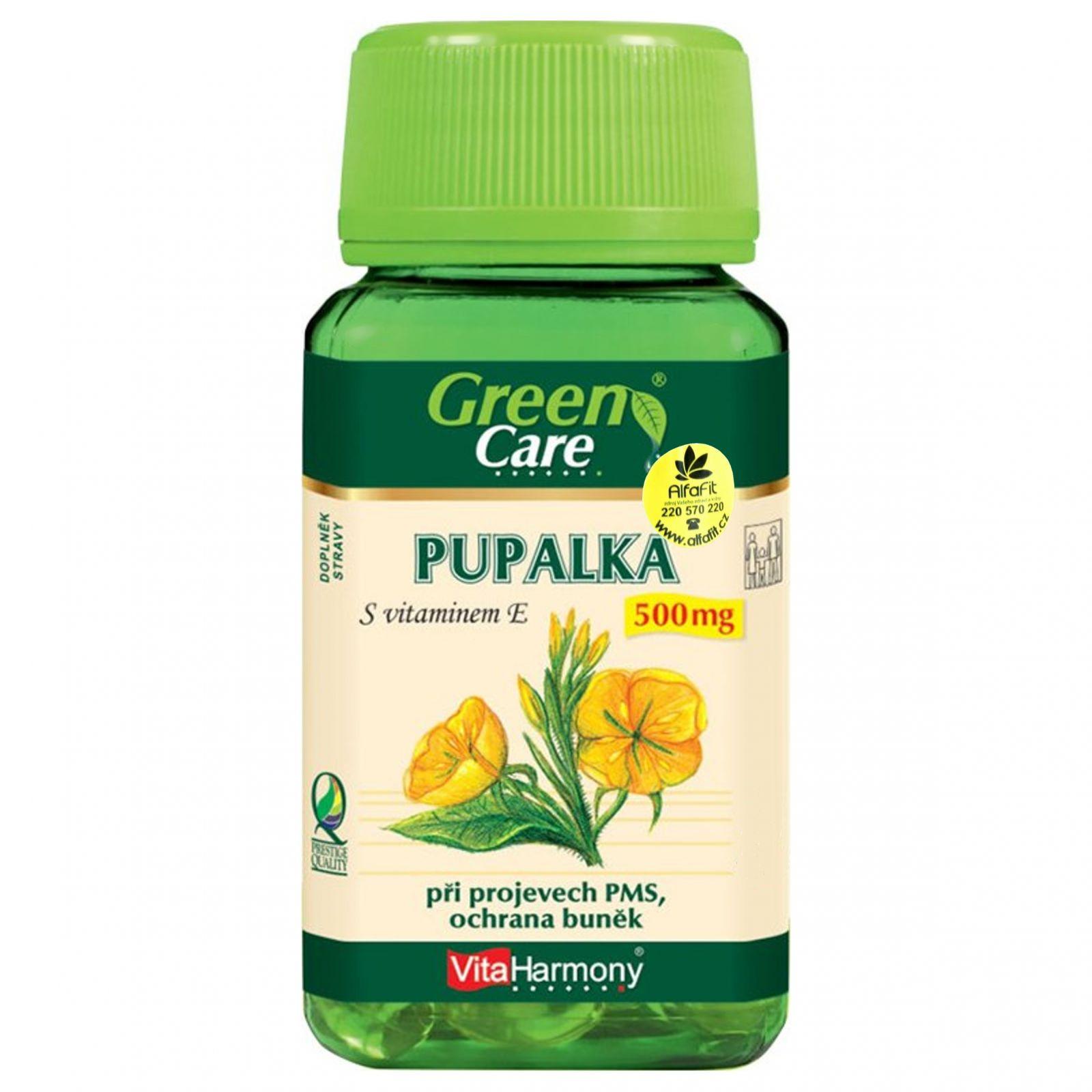 VitaHarmony Pupalka 500 mg - 90 tobolek