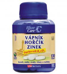 Vitaharmony Calcium & Magnesium & Zink Forte + vit. D3 & K2 ─ 130 Tabletten