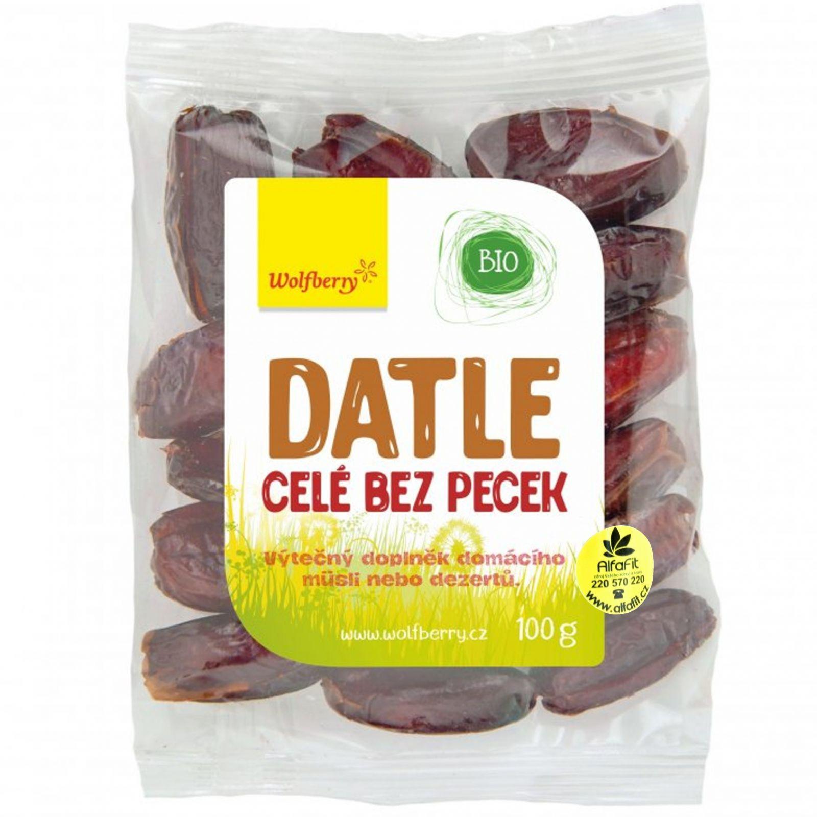 Wolfberry Datle celé medium 400 g
