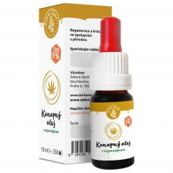 Zelená Země CBD Hanföl 5% mit Rosmarin 10 ml ─ regeneratives Serum