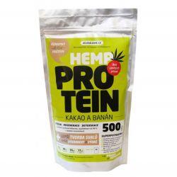 Zelená Země Hanf-Protein 500 g - Kakao & Banane