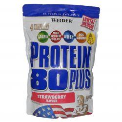 Weider Protein 80 plus 500 g ─ Geschmack Kokosnuss DISCOUNT