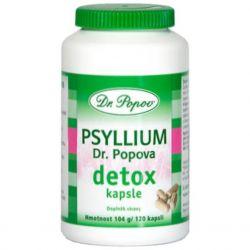 Dr. Popov Psyllium DETOX 120 Kapseln