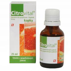 Herb-pharma Citrovital - extrakt z jader grepu 25 ml