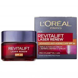L'Oréal Paris Revitalift Laser erneuern, Tagescreme mit OF 20 – 50 ml