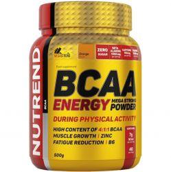 Nutrend BCAA Energy mega strong powder, pomeranč, 500g