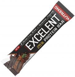 Nutrend Excelent 25% protein bar DOUBLE with caffeine 85 g