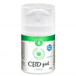 Zelená Země CBD-Kühlgel mit Menthol 50 g