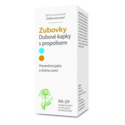 Dědek kořenář Zubovky® RK-ZP Eichentropfen mit 50 ml Propolis