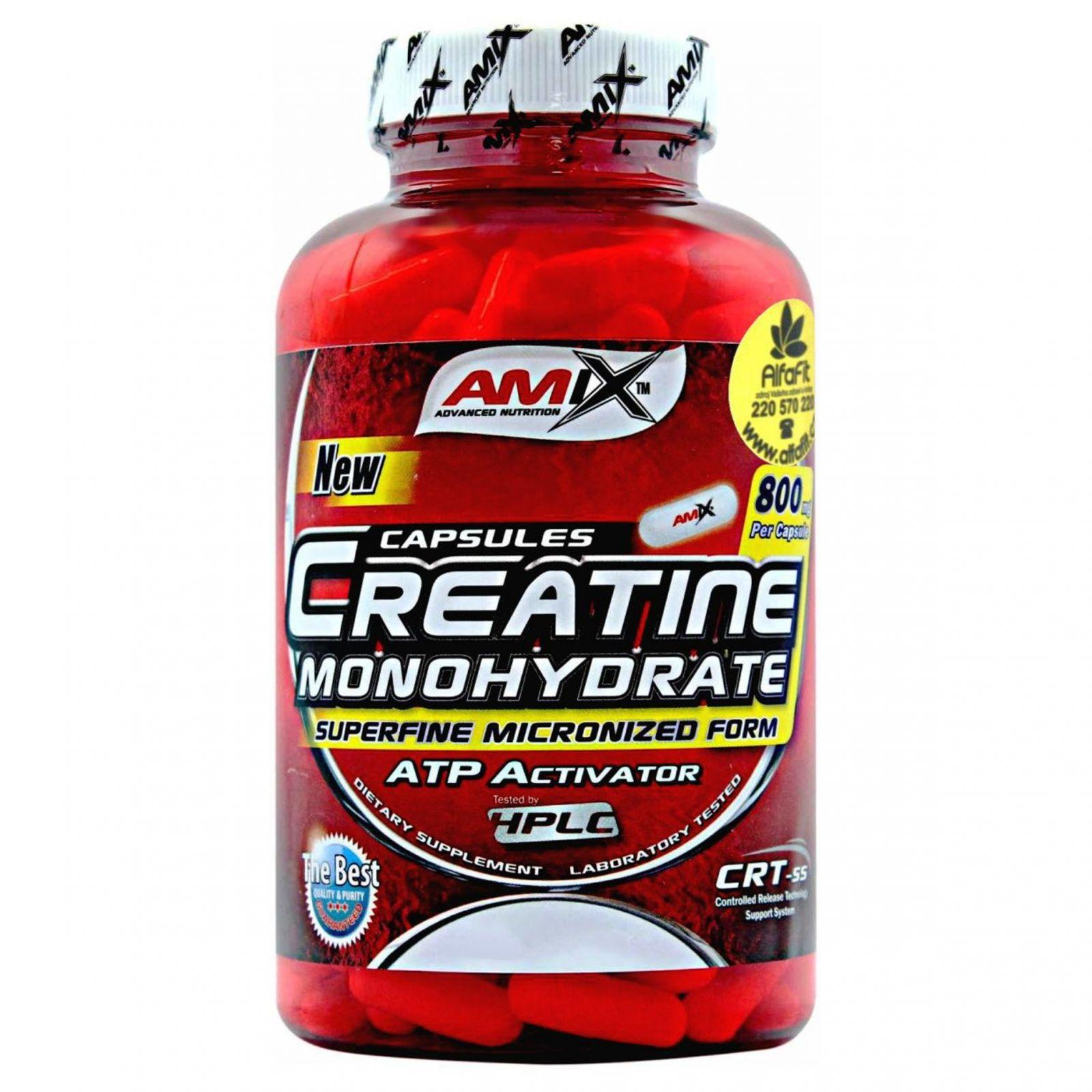 AMIX Creatine Monohydrate 220 kapslí