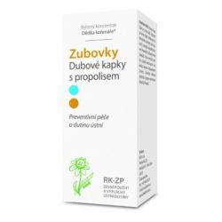 Dědek kořenář Zubovky® RK-ZP Eichentropfen mit 100 ml Propolis
