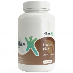 Klas Lecithin plus 1200 mg + Vitamin E – 100 Kapseln