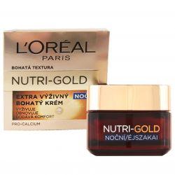 L'Oréal Paris Nutri─Gold Extra výživný noční krém 50 ml