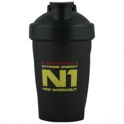 NUTREND Shaker schwarz N1 400 ml