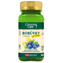 VitaHarmony Blaubeeren + Vitamin C 120 Kaugummi. Tablette