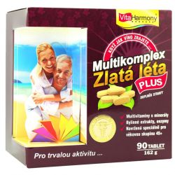 Vitaharmony multikomplex Golden Years Plus 90 Tabletten