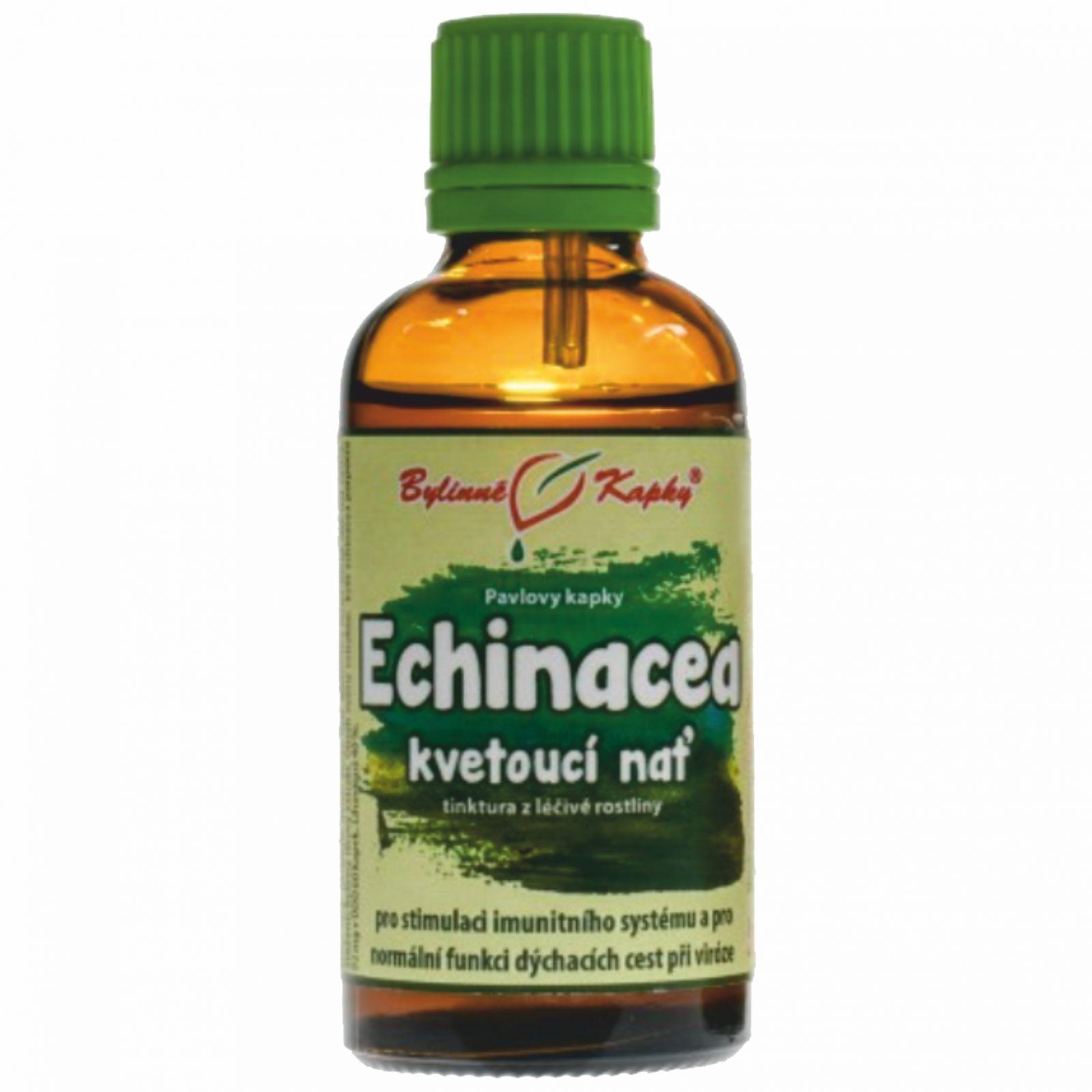 Bylinné kapky Echinacea - kvetoucí nať 50 ml
