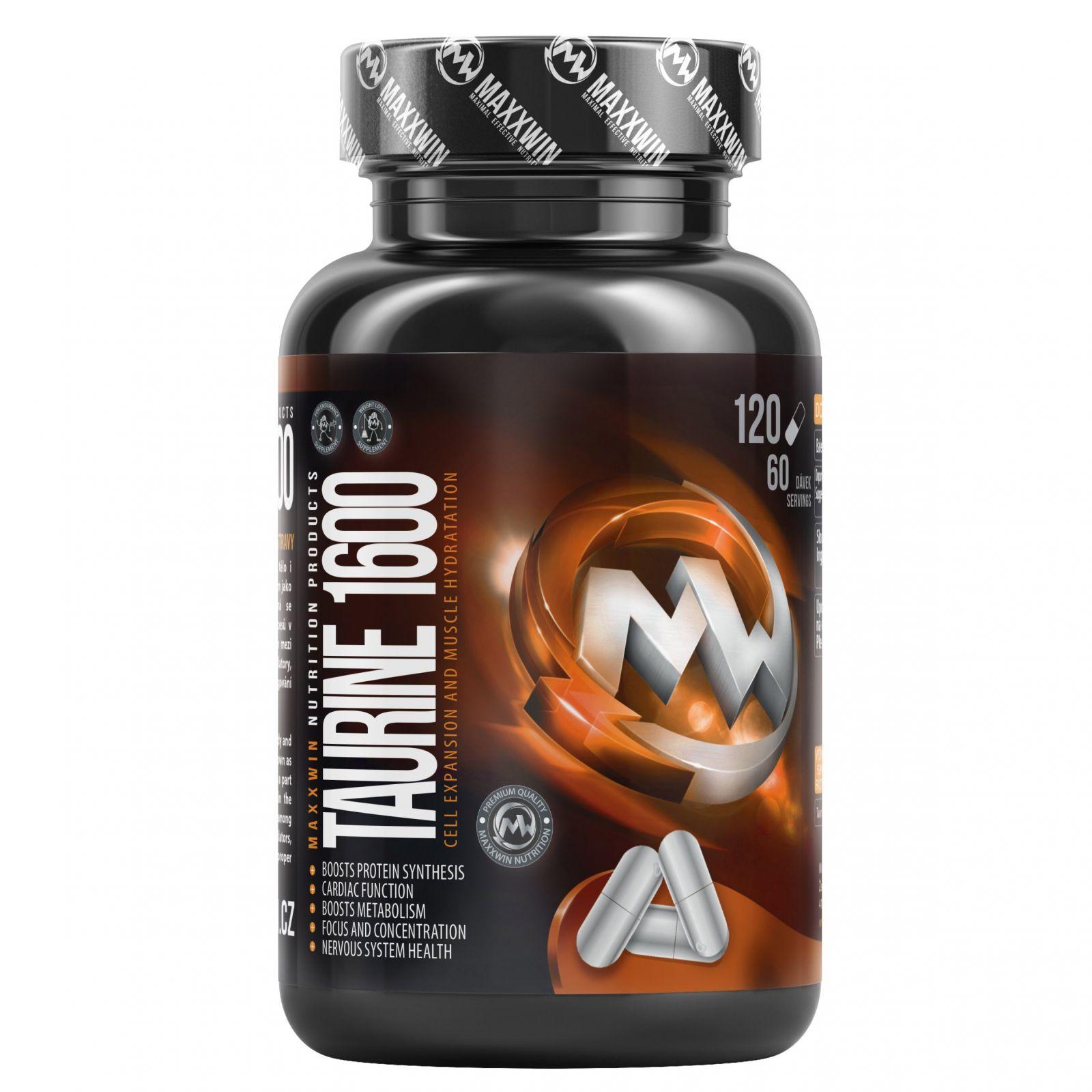 MAXXWIN TAURINE 1600 mg - 60 kapslí