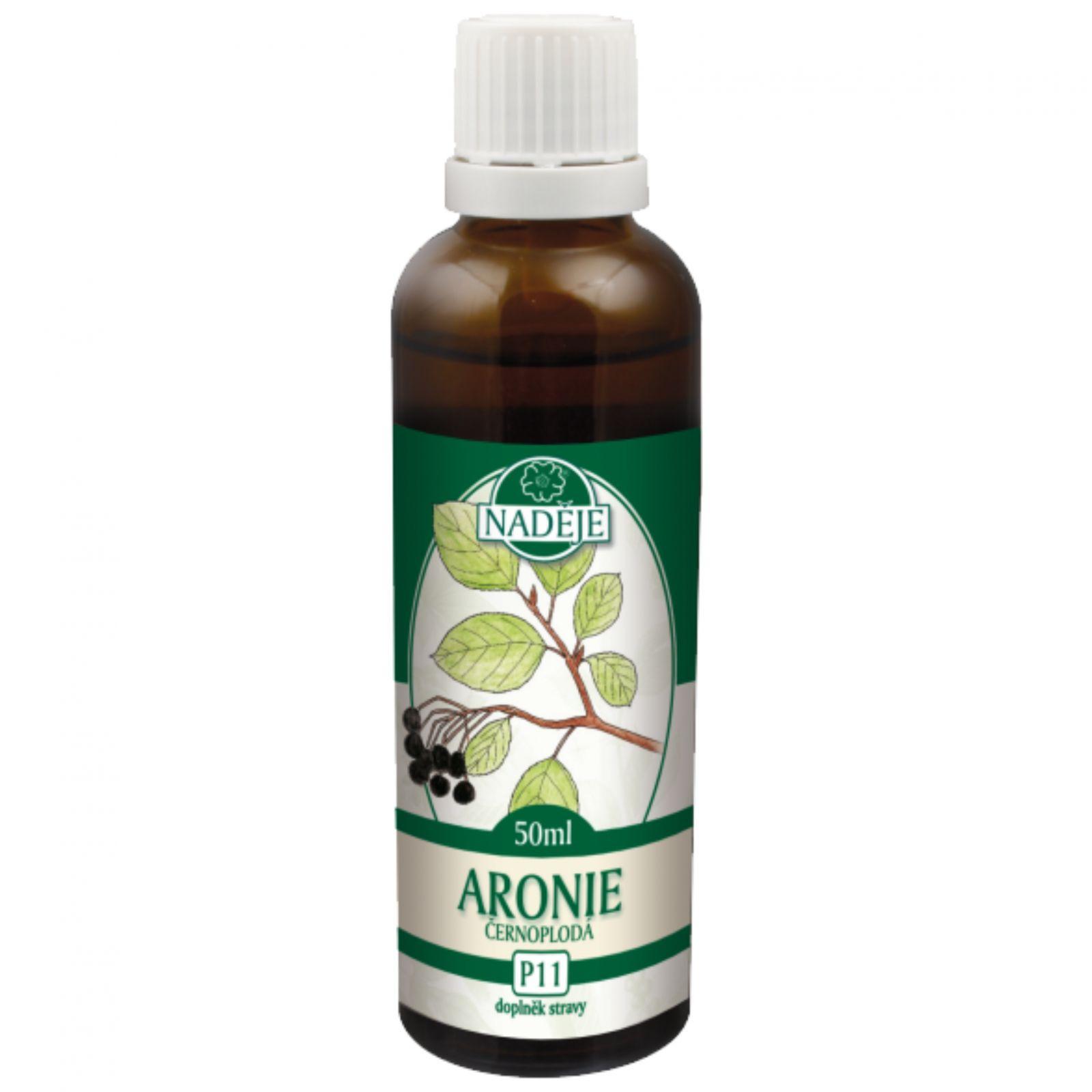 Naděje Černý jeřáb - ARONIE - tinktura z pupenů 50 ml