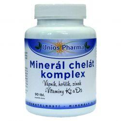 Unios Pharma Mineral Chelatkomplex aus 90 Tabletten