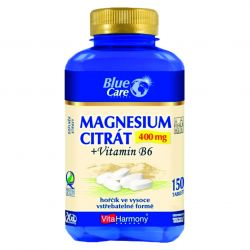 VitaHarmony Magnesium citrát 400 mg + vitamin B6