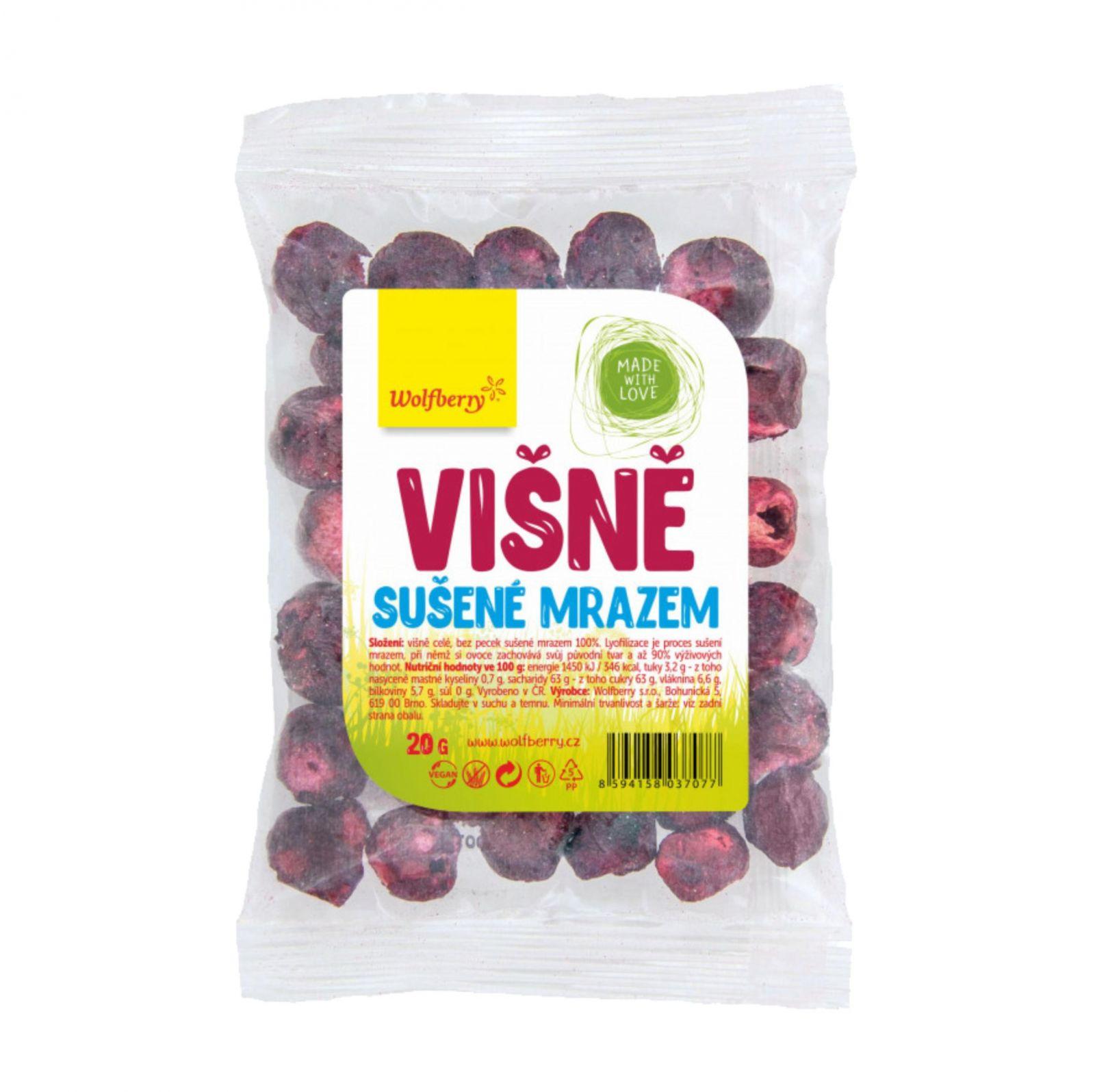 Wolfberry Višně - lyofilizované ovoce - sušené mrazem 20 g
