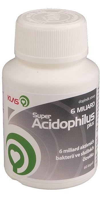 Klas Super Acidophilus plus 6 miliard 60 Kapseln
