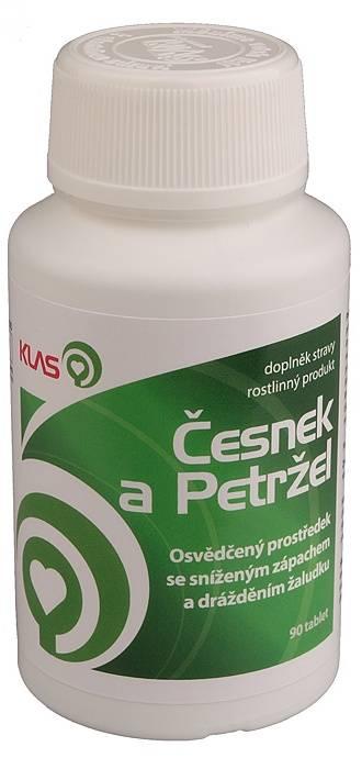 Klas Česnek a Petržel 90 Tabletten