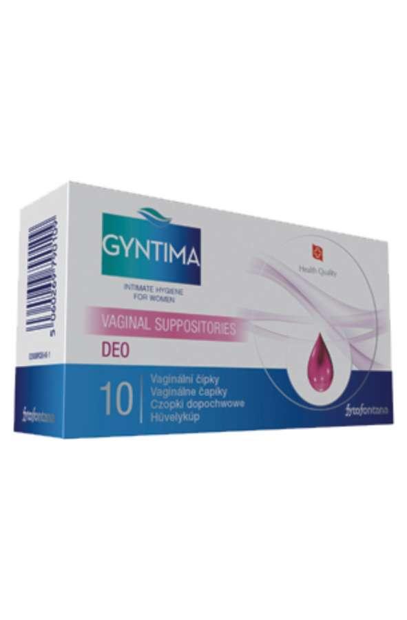 Herb-pharma Gyntima vaginální čípky DEO 10 ks