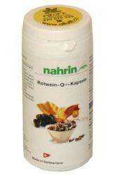 Nahrin Rotwein Kapseln mit Coenzym Q10 ─ 100 Kapseln