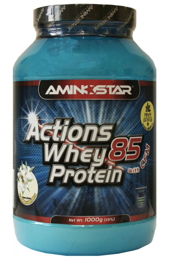 AMINOSTAR Action Whey Protein 85 - 1000 g