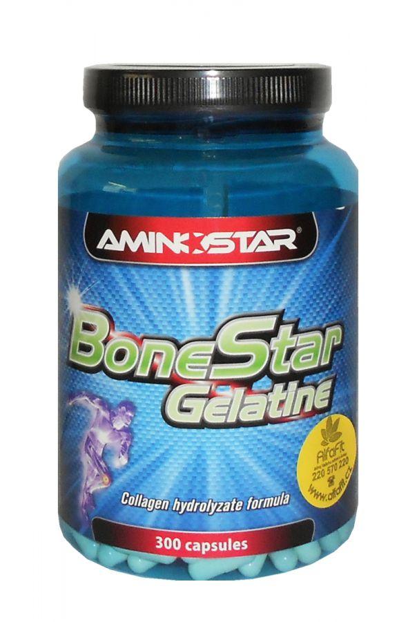 Aminostar BoneStar Gelatine 300 kapslí