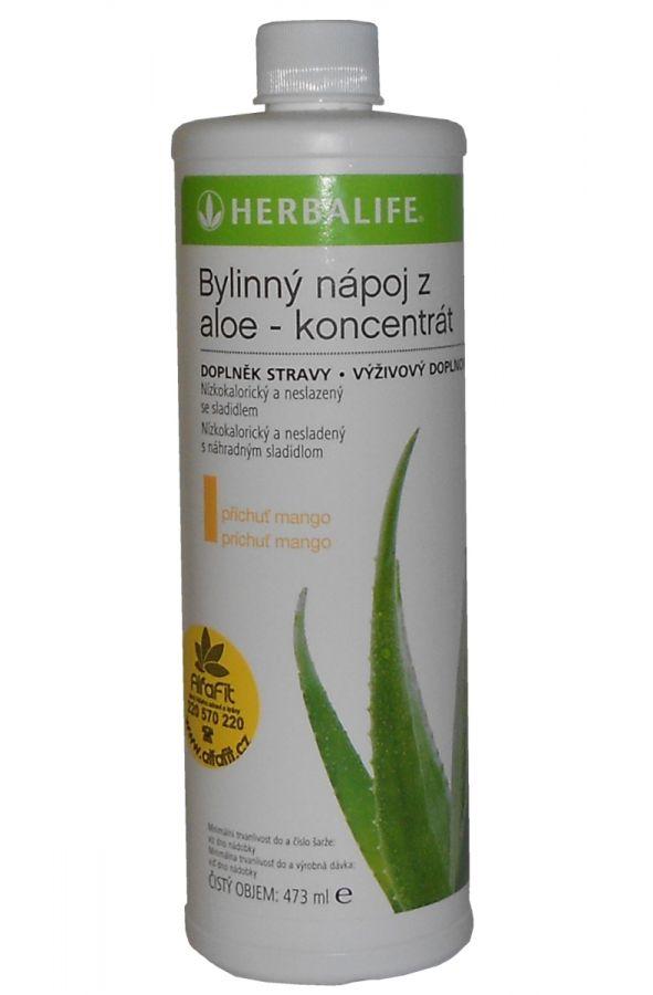 Bylinný koncentrát z Aloe s příchutí Mango 473 ml