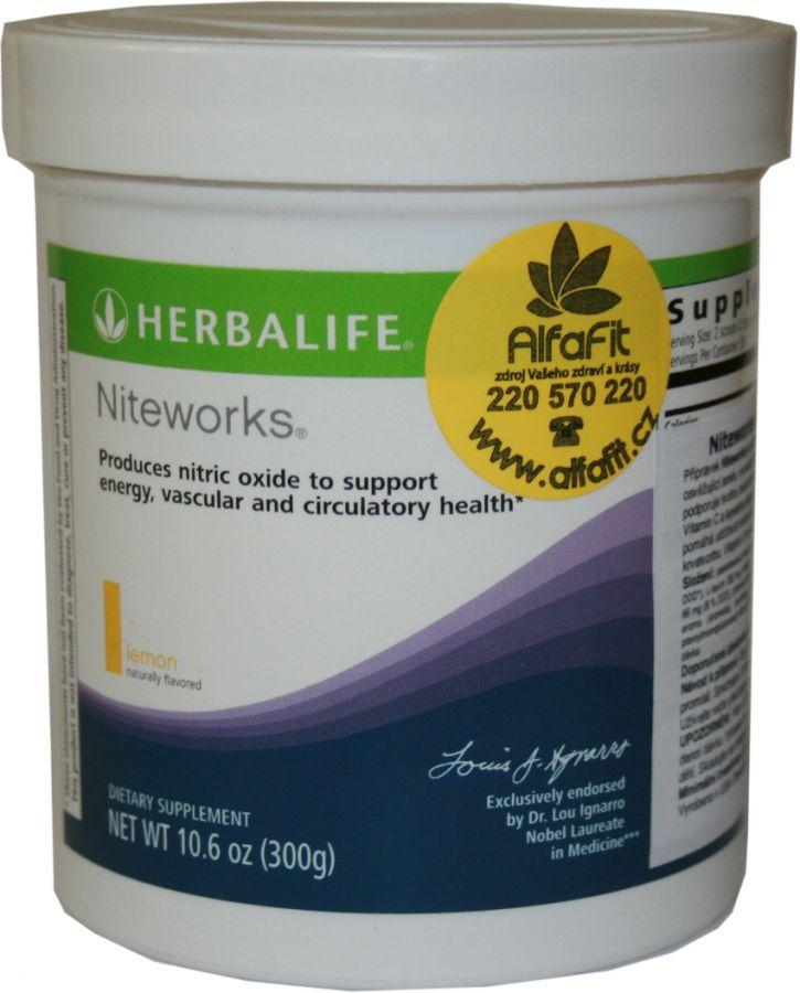 Herbalife Niteworks 300 g - příchuť lemon