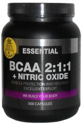 PROM─IN Essential BCAA 2:1:1 + Nitric Oxide 500 Kapseln