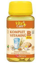 VitaHarmony Komplex von Vitaminen B-forte 60 Tabletten