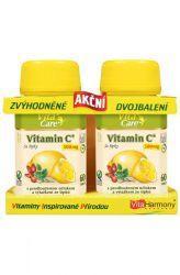 VitaHarmony Vitamin C mit Hagebutten 500 mg 60 + 60 Tabletten