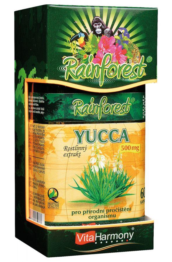 Yucca 500 mg - 60 kapslí